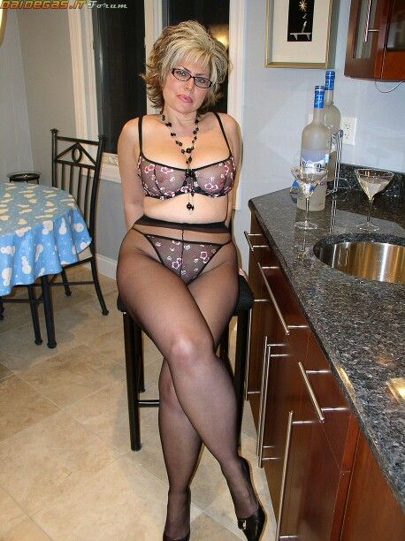 Mature Pantyhose Hot 77