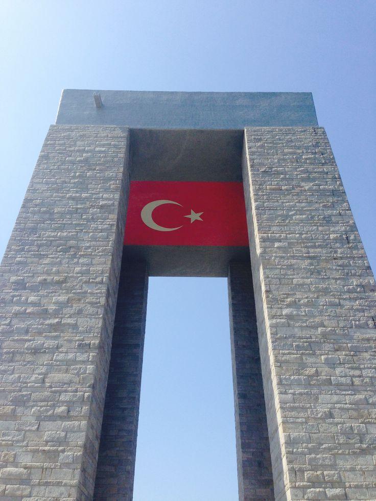 Zafer anıtı ...Canakkale✳️