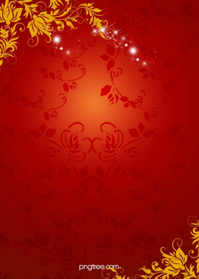 Chinese New Year Red Floral Pattern Background In 2020 Chinese