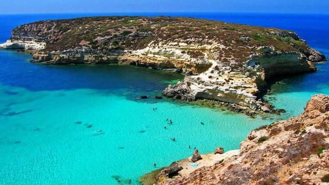 Island of Lampedusa - Sicily