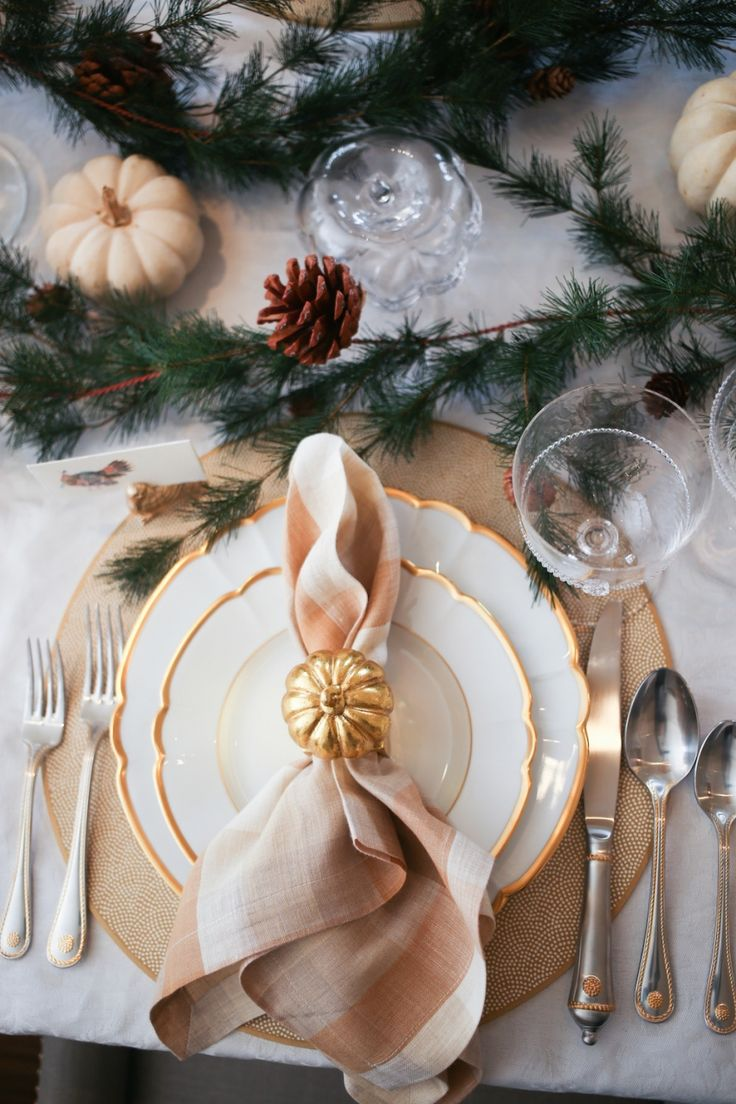 tablesetting by the style blue print team