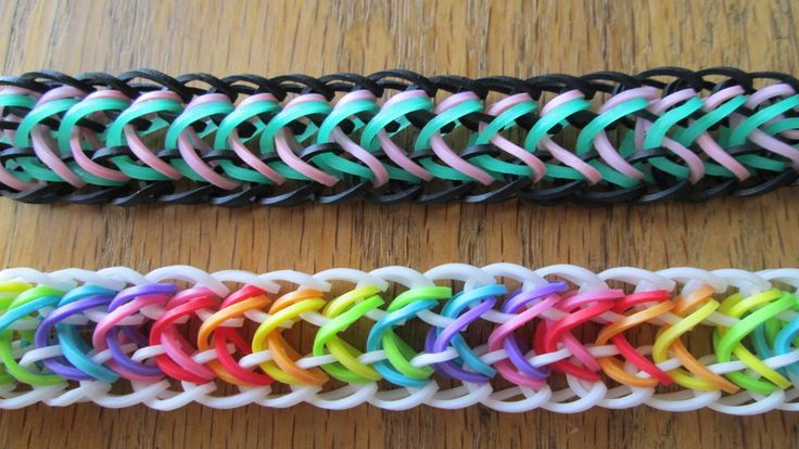Made with the Monster Tail or Mini Loom.  *Zuzu* Underdog Bracelet on the Loom (Original Design)!