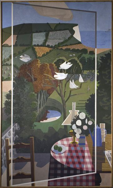 Landscape 1956 Kenneth Rowntree, born 1915 - died 1997