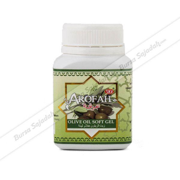 Kapsul berisi 100% ekstrak buah zaitun yang disebut juga dengan olive oil atau minyak zaitun. Minyak zaitun kapsul Arofah ini telah diolah secara higienis agar kualitas & manfaatnya tetap terjaga.