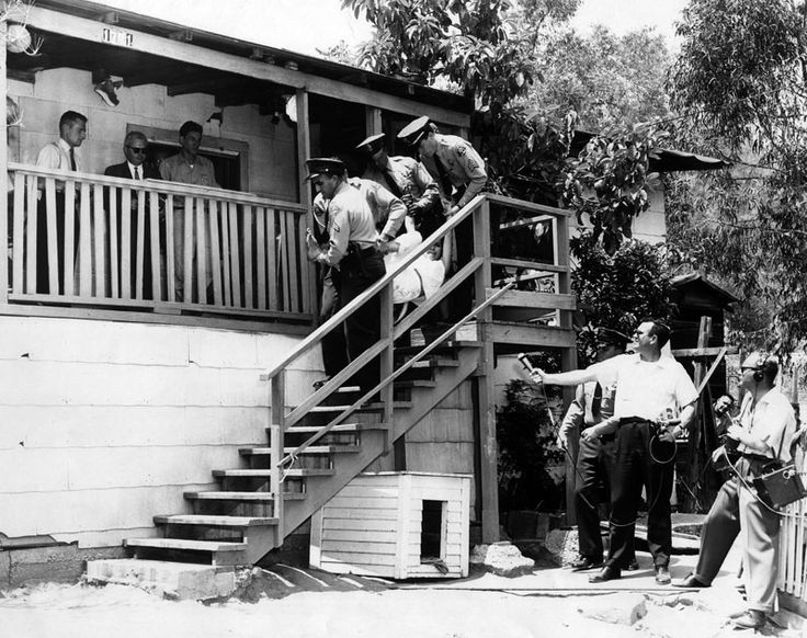 Chavez Ravine forcible eviction, 1959 Los angeles