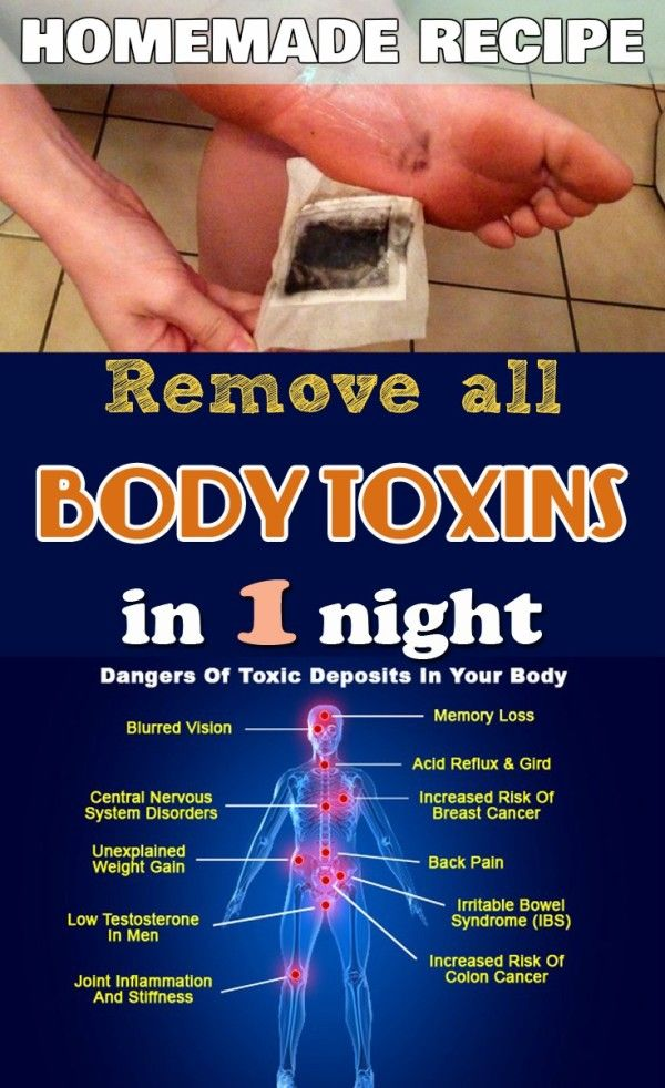 Detoxify Your Body Over Night With This Amazing Trick