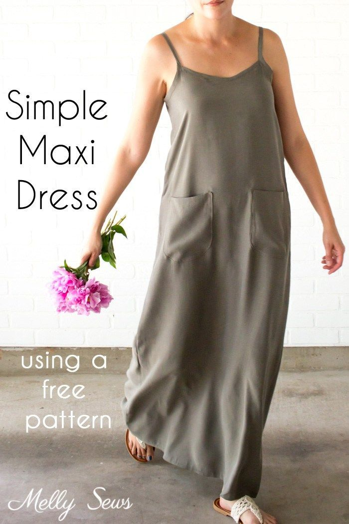 tutorial: Summer time maxi gown