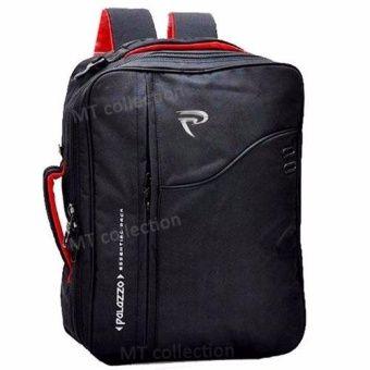 Belanja Palazzo Tas Ransel Backpack 3in1 ( Ransel, Softcase, dan Slempang ) - Hitam Murah - Belanja di Lazada. FREE ONGKIR & Bisa COD.
