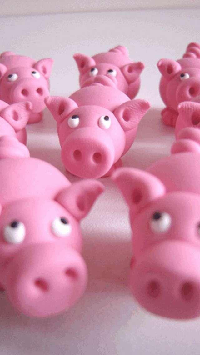 Little Pink Piggies