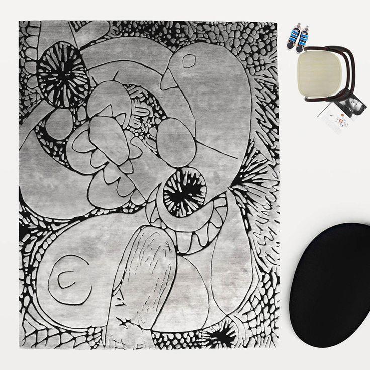 HENZEL STUDIO X JACK PIERSON X ART RUG, IN SITU