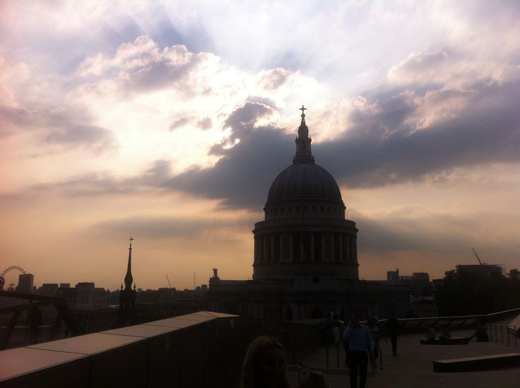 #sunset #stpaulscathedral #london