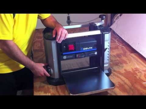 Delta 13 Quot Portable Thickness Planer 22 590 Review Http