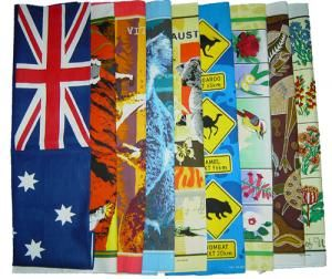 Tea Towels - These 100% cotton towels are packed with rich, vibrant, color fast colors and are great to use around the kitchen. They measure 19 inches x 30 inches.