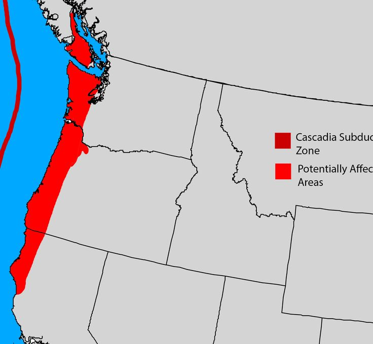 Image result for cascadia fault