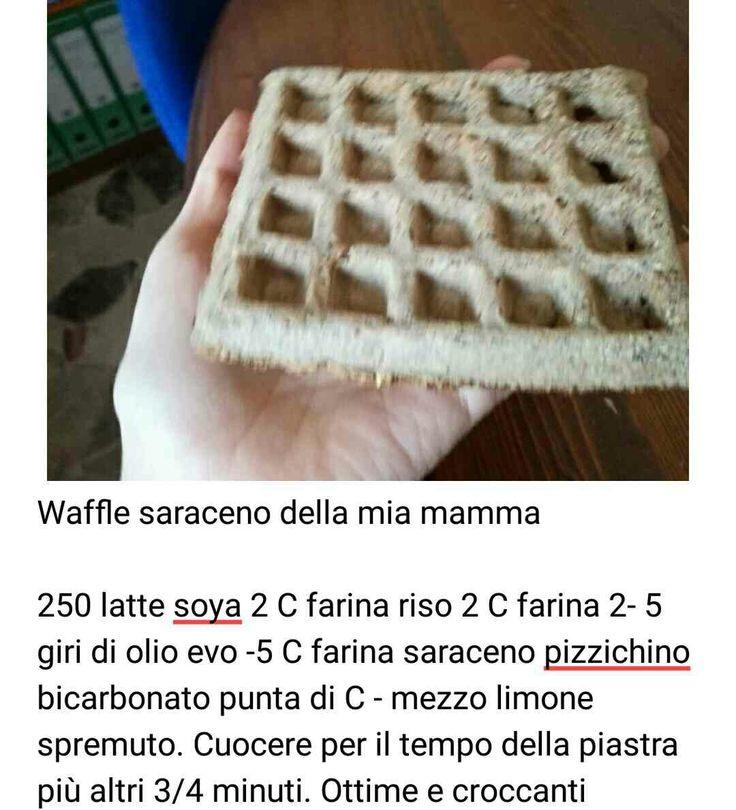 Waffles saraceno