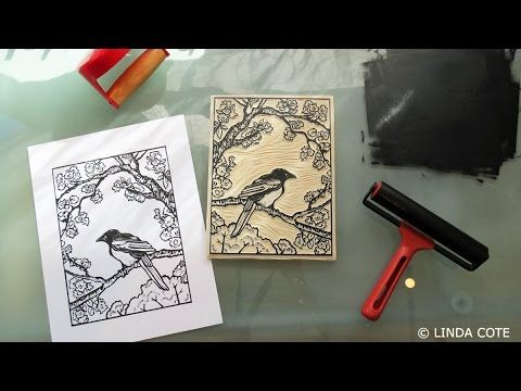 The printmaking ink I love | Musings From The Studio