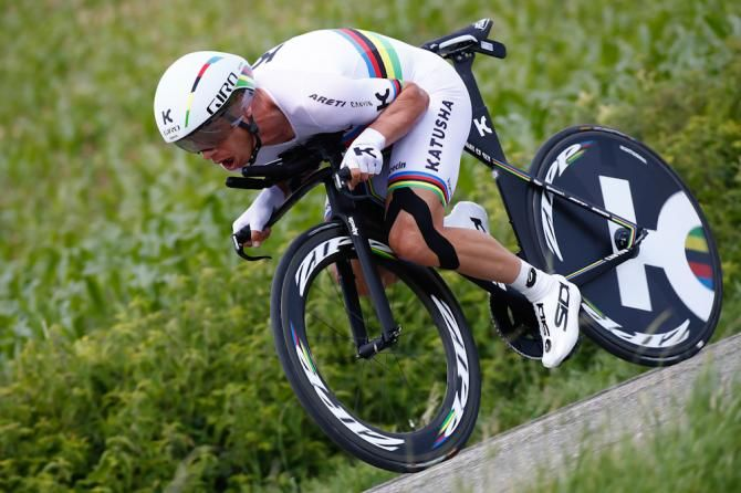 Tony Martin (Katusha-Alpecin) was 2nd in TT -Criterium du Dauphine.