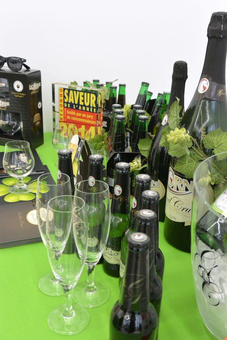 De nombreuses dégustations en ce jour de Saint Patrick avec La Brasserie Licorne & sa gamme de bière Licorne (bio, black & grand cru).