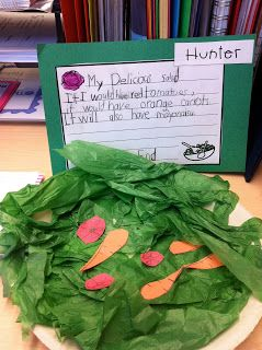 Nutrition Unit- make your own salad craft