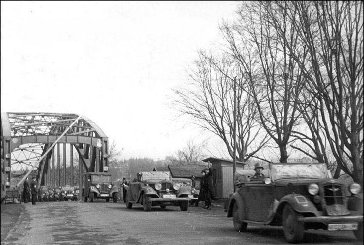 Němečtí vojáci jsou v Ostravě