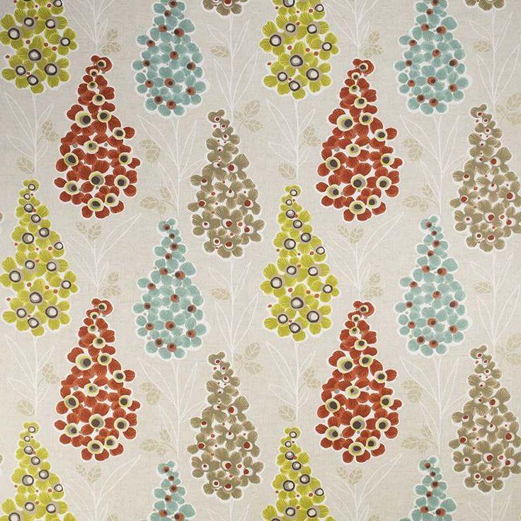 Warwick Fabrics : HONOLULU, Colour SPICE