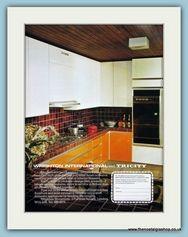 Wrighton Kitchens. Original Advert 1975 (ref AD2806)