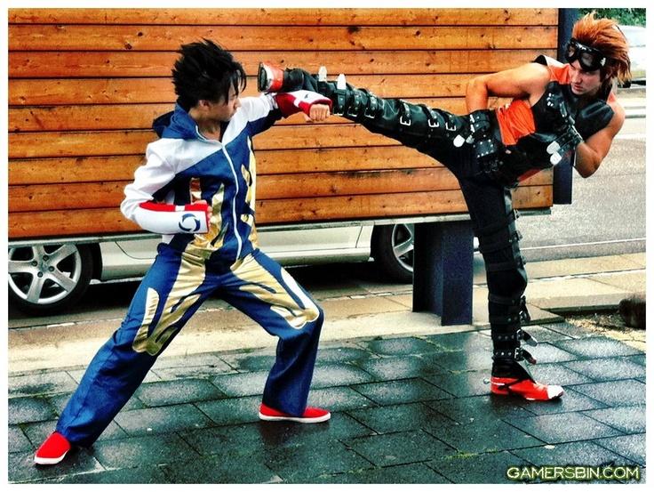 Jin vs Hwoarang Karate vs Tae Kwon Do | Cosplay | Pinterest ...