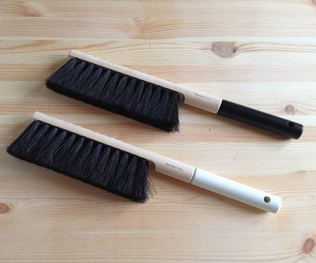 Black And White Dustpan Brush   Way Too Nice For The Floor; They Look Like