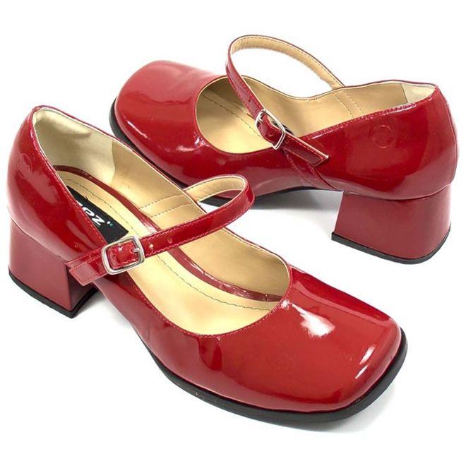 Sapato Retrô em Couro Doll - ZPZ SHOES