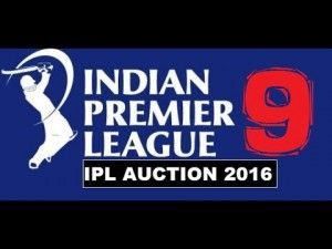IPL 9 : 2016 All Team players Details