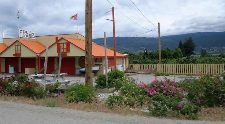One of many fruit stands around Peachland/Summerland, BC