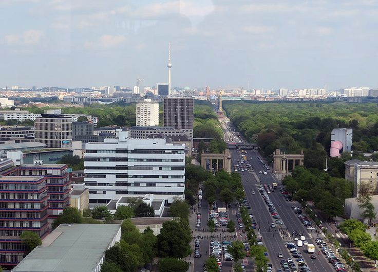 Fabulous Berlin views for the price of a cup of coffee....