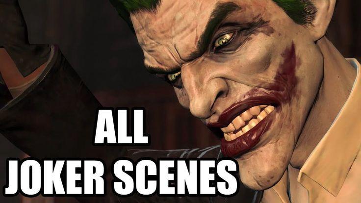 Batman: Arkham Origins - All Joker Scenes