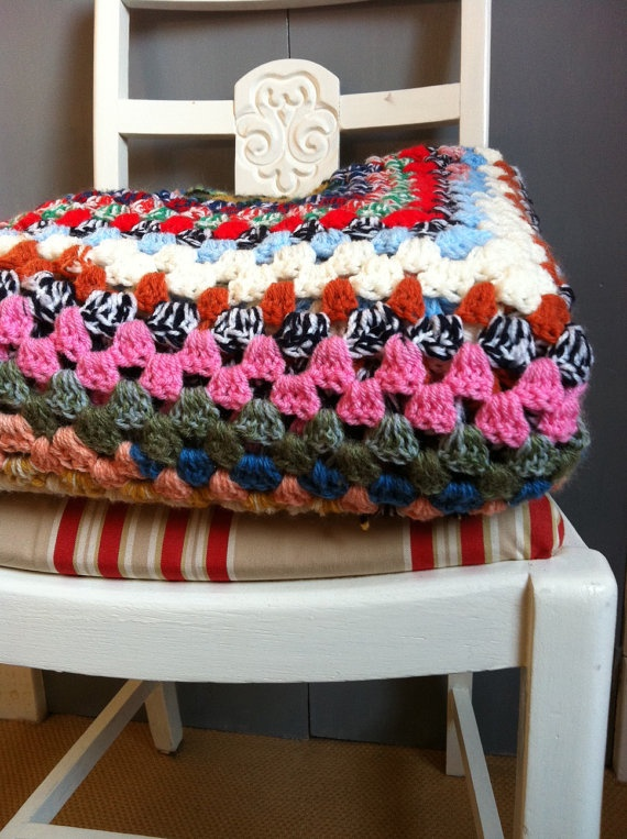 I love granny blankets
