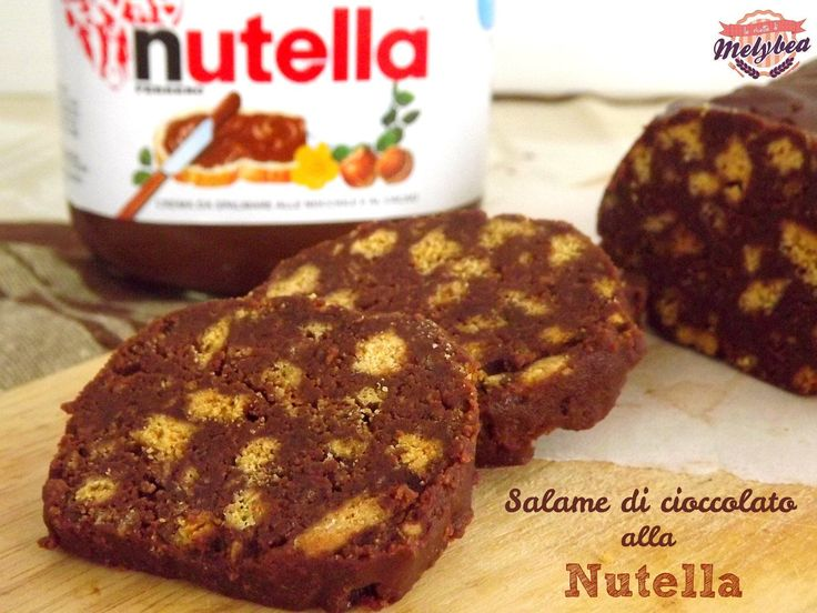 salame di cioccolato alla nutella .versione alternativa alla ricetta classica