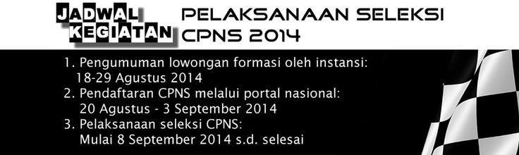 Informasi Penerimaan CPNS 2014 Terbaru | Embun Mulia