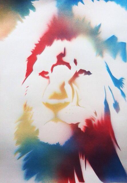 #art #arte #kunst #illustratie #illustration #graff #graffiti #graffitiart #sprayart #streetart #lion #leeuw #nature #natuur #colour #colours #colourfull #kleurrijk