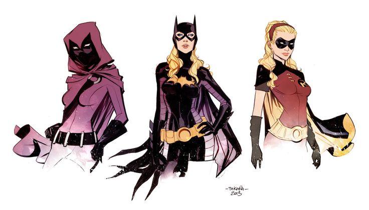 Stephanie Brown: Spoiler, Batgirl, Robin - by marcio takara