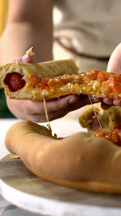 Pizza + Perro Caliente. Esta nueva idea te fascinará