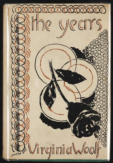 Vanessa Bell's cover design for Virginia Woolf's The Years