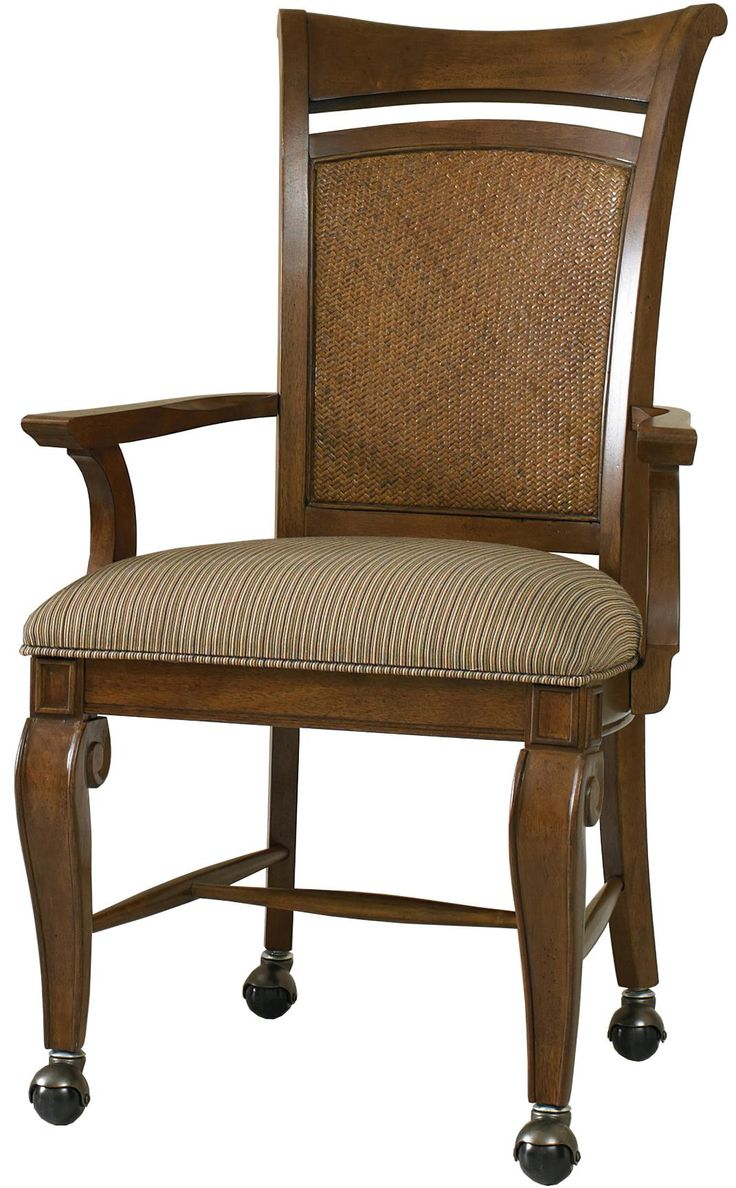 images about Dining chairs on casters on Pinterest Antique