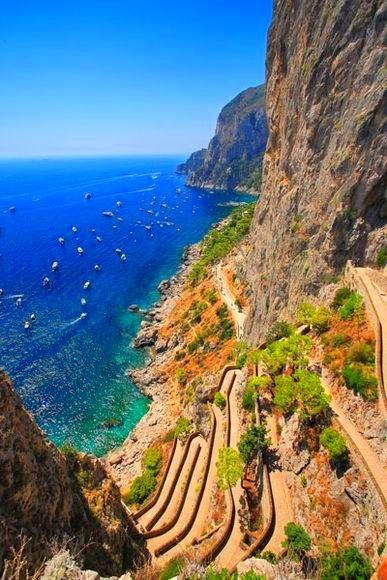 Capri, Italy.  Ugh, I want to go back soon. <3