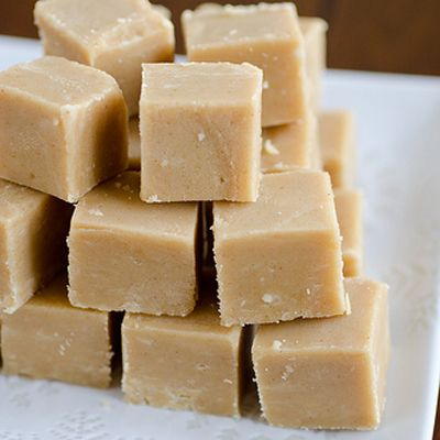 Peanut Butter Fudge – only four ingredients, two dishes, and your microwave.