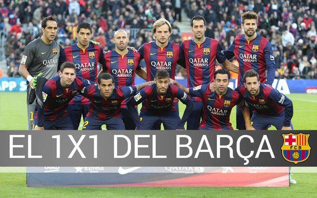 El 1x1 del Barça-Espanyol | BARÇA | SPORT.es