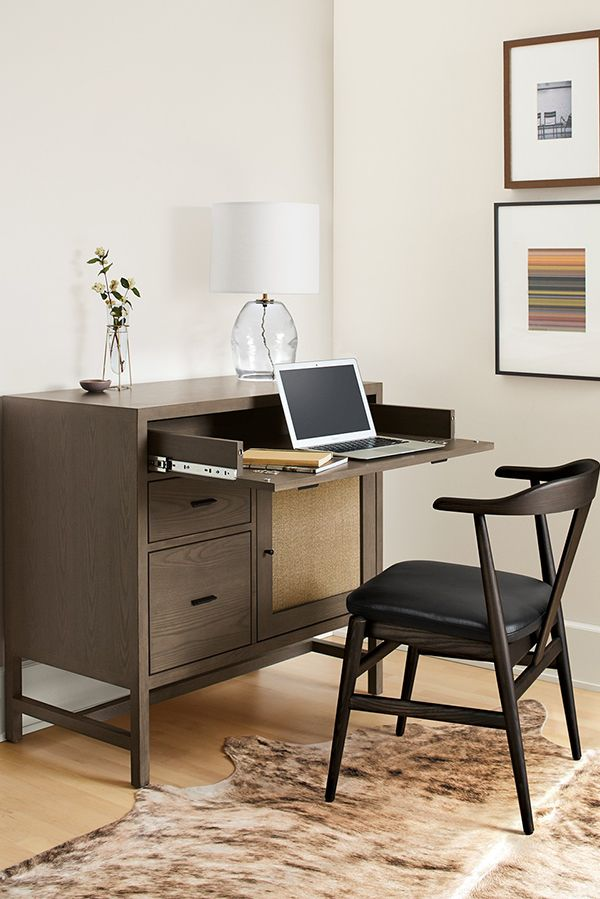 Our Berkeley Office Cabinet Makes It Easy To Turn Any Corner Into A  Functional Office Space Or Homework Station.
