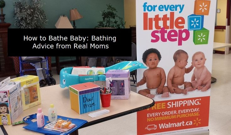 How to Bathe Baby: Bathing Advice from Real momstown Kamloops Moms