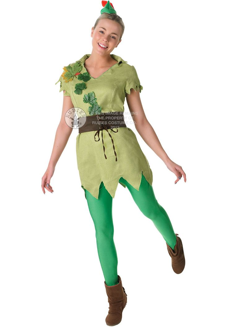 Female+Peter+Pan+Costume,+Disney+Officially+Licensed+-+Disney+