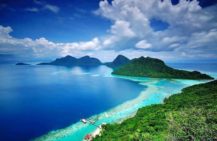 Bohey Dulang Island, Sabah, Malaysia!  By: Khai Andy.