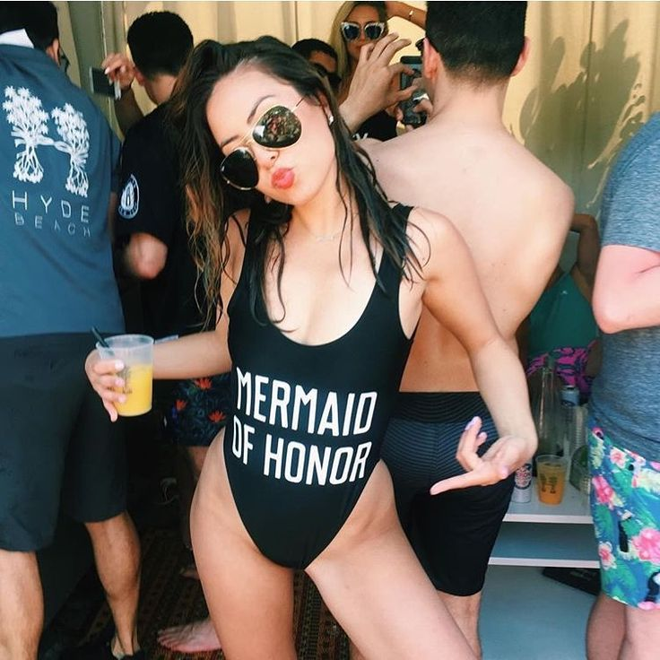 Mermaid of Honor one-piece suit from Private Party