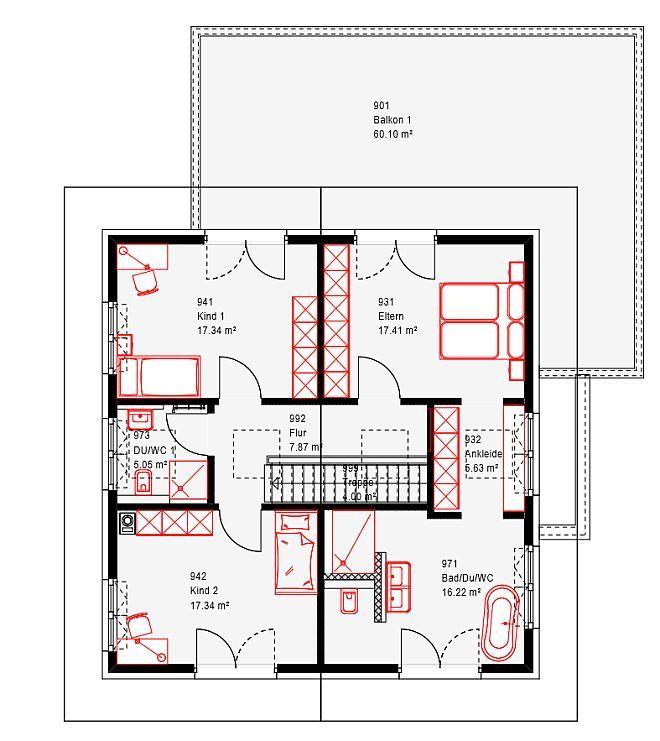 Die besten 25 zweifamilienhaus ideen auf pinterest for Zweifamilienhaus grundriss